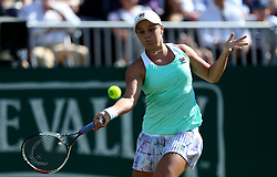 Australia's Ashleigh Barty during day five of the Nature Valley International at Devonshire Park, Eastbourne.