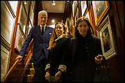 NICKY HASLAM; FRANCES ARMSTRONG-JONES; THE COUNTESS OF SNOWDON Ralph Lauren host launch party for Nicky Haslam's book ' A Designer's Life' published by Jacqui Small. Ralph Lauren, 1 Bond St. London. 19 November 2014