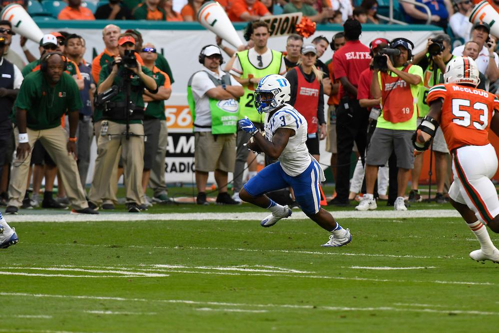 2016 Duke Blue Devils Football @ Miami