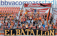 Jun 29, 2016; Houston, TX, USA; The El Batallon cheer for the Houston Dynamo while playing against the Sporting Kansas City in the second half at BBVA Compass Stadium. Dynamo won 3 to 1. Mandatory Credit: Thomas B. Shea-USA TODAY Sports