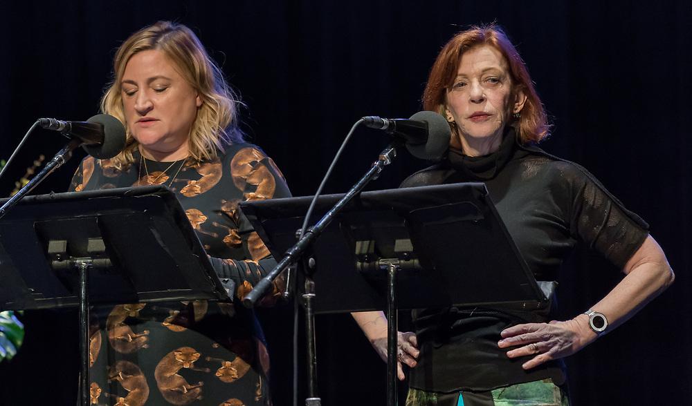 Sarah Thyre and Susan Orlean
