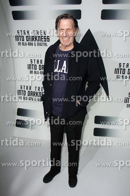 Leonard Nimoy, at the &quot;Star Trek Into Darkness&quot; Blu-Ray and DVD Release Party, California Science Center, Los Angeles, CA 09-10-13. EXPA Pictures &copy; 2015, PhotoCredit: EXPA/ Photoshot/ Martin Sloan<br /> <br /> *****ATTENTION - for AUT, SLO, CRO, SRB, BIH, MAZ only*****
