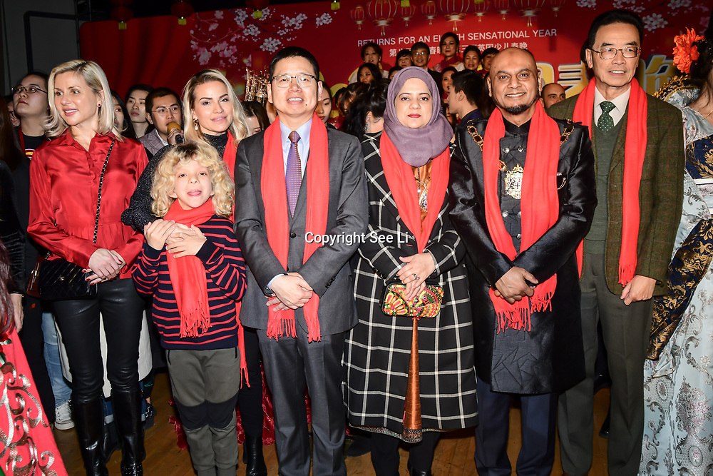 The UK Chinese Dance and Culture Association host the 2020 China-Britain Chinese New Year Extravaganza with 200 performers from over 20 art groups from both China and the UK showcase at Logan Hall on 18th January 2020, London, UK.