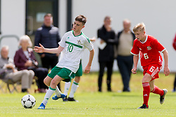 WREXHAM, WALES - Thursday, August 15, 2019: Northern Ireland's Chris Cope during the UEFA Under-15's Development Tournament match between Wales and Northern Ireland at Colliers Park. (Pic by Paul Greenwood/Propaganda)