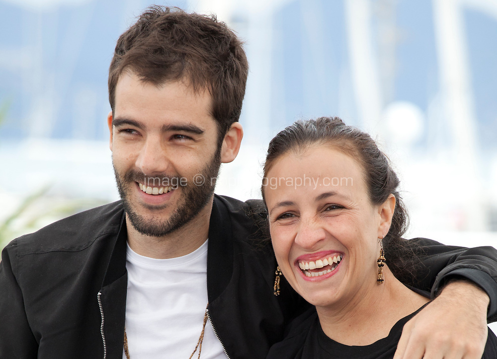 Director  João Salaviza  and Director Renée Nader Messora at the The Dead And The Others film photo call at the 71st Cannes Film Festival, Wednesday 16th May 2018, Cannes, France. Photo credit: Doreen Kennedy
