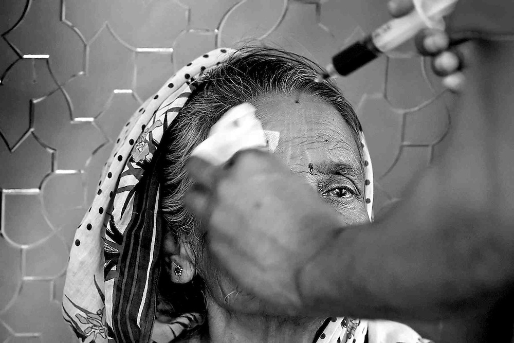 Lifebouy Hospital - Eye Camp ..2 visiting Doctors from Dhaka come & perform cataract surgeries on mostly elderly patients