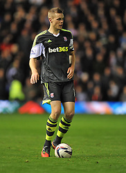 Stoke City's Ryan Shawcross -  - Photo mandatory by-line: Alex James/JMP - Tel: Mobile: 07966 386802 29/10/2013 - SPORT - FOOTBALL - ST Andrew's - Birmingham - Birmingham City v Stoke City - Capital One Cup - Forth Round