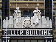 Detail of The Fuller Building on 57th street and Madison Avenue