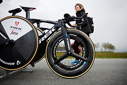 Trek Segafredo at Healthy Ageing Tour 2019 - Stage 4A, a 14.4km individual time trial starting and finishing in Winsum, Netherlands on April 13, 2019. Photo by Sean Robinson/velofocus.com