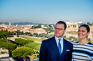 16-12-2016 ROME ITALY - Princess Victoria and Prince Daniel visit to  VISIT TO FOOD AND AGRUCULTURE ORGANIZATION OF THE UNITED NATIONS (FAO) The Crown Princess Couple's Princess Victoria and Prince Daniel visit to Rome and Milan, Italy, December 15-17  COPYRIGHT ROBIN UTRECHT