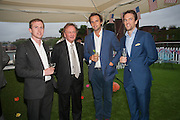 JOHN MULRYAN; SEAN MULYRAN; CHARLIE GILKES; ; DUNCAN STIRLING;  , Charlie Gilkes and Duncan Stirling host Inception Group's Hamptons Garden party on the rooftop garden of the Ballymore marketing suite overlooking the site of the new US embassy. Embassy Gardens, London SW8.  12 July 2012.