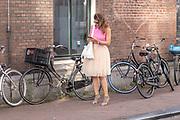 2018, 4 juli. Bumbu Kitchen, Amsterdam. Lancering GTST magazine. Op de foto: Marieke Elzinga
