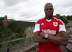 Marlon Harewood of Bristol City - Photo mandatory by-line: Kieran McManus/JMP - Tel: Mobile: 07966 386802 31/07/2013 - SPORT - FOOTBALL - Avon Gorge Hotel - Clifton Suspension bridge - Bristol -  Team Photo