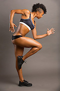 Fitness photography with dancer Khadija Griffith.