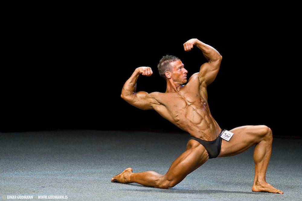 Bodybuilding competion in Sweden