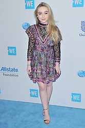 Sabrina Carpenter arrives at We Day California 2017 held at The Forum in Inglewood, CA on Thursday, April 27, 2017. (Photo By Sthanlee B. Mirador) *** Please Use Credit from Credit Field ***