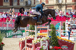 MUFF Werner (SUI), Jolie vh Molenhof<br /> Münster - Turnier der Sieger 2019<br /> MARKTKAUF - CUP<br /> BEMER-Riders Tour - Qualifier for the rating competition (comp no 11)  - Stechen<br /> CSI4* - Int. Jumping competition with jump-off (1.50 m) - Large Tour<br /> 03. August 2019<br /> © www.sportfotos-lafrentz.de/Stefan Lafrentz
