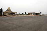 The Moanda Airport was built by Mobutu Sese Seko to receive the Concord in his native village in Equateur province and was Africa's largest airport. .Gbadolite, DR Congo. 16/03/2009.Photo © J.B. Russell