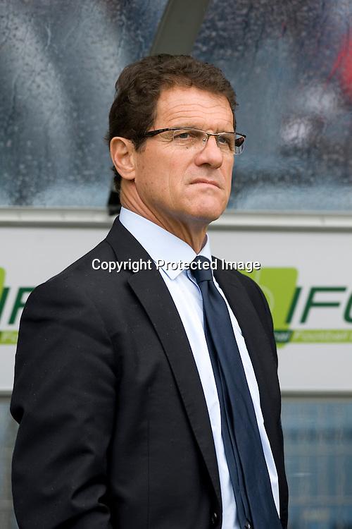 Fabio Capello, England team head coach, May 30, 2010 - Football : World Cup South Africa 2010 test match ,  match between Japan 1-2 England  at Libenau stadium, Graz, Austria, (Photo by Enrico Calderoni/AFLO SPORT) [0391]