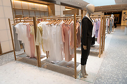 © Licensed to London News Pictures. 04/04/2016. The new SELFRIDGES The Body Studio - the world's first fully integrated bodywear department and the largest retail space ever opened by the iconic London store. Covering over 37,000 sq ft, customers will experience over 3,000 brands and more than 5,000 different clothing options.London, UK. Photo credit: Ray Tang/LNP