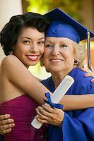 Senior Graduate and Grandchild