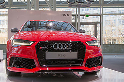 10.03.2015, Audi Forum, Ingolstadt, GER, AUDI AG Jahrespressekonferenz, im Bild Ausstellung Audi RS 6 // during AUDI AG Annual Press Conference at the Audi Forum in Ingolstadt, Germany on 2015/03/10. EXPA Pictures © 2015, PhotoCredit: EXPA/ Eibner-Pressefoto/ Strisch<br /> <br /> *****ATTENTION - OUT of GER*****