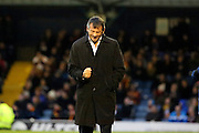 Southend United manager Phil Brown celebrating during the EFL Sky Bet League 1 match between Southend United and Bradford City at Roots Hall, Southend, England on 19 November 2016. Photo by Matthew Redman.