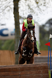 Laurijssen Louise, BEL, Orchid's Bowdy Golden H<br /> Nationaal Kampioenschap Eventing Minderhoud 2018<br /> © Hippo Foto - Dirk Caremans