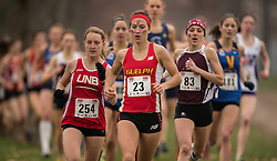 London, Ontario ---2012-11-10--- Genevieve Lalonde of Guelph Gryphons competes at the 2012 CIS Cross Country Championships at Thames Valley Golf Course in London, Ontario, November 10, 2012. .GEOFF ROBINS Mundo Sport Images