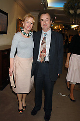Actress ANGHARAD REES and MR DAVID McALPINE at the Sotheby's Summer Party 2007 at their showrooms in New Bond Street, London on 4th June 2007.<br />
