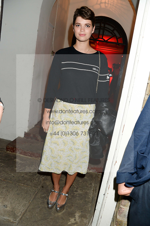 PIXIE GELDOF at the Carrera Ignition Night at The House of St.Barnabas, Soho, London on 20th June 2013.