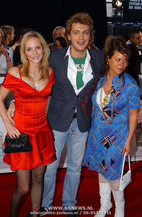 TMF Awards 2005, Kurt Rogiers en partner en vriendin