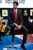 Iberostar Tenerife player Javier Beirán during the presentation of the new season of La Liga Endesa 2016-2017 in Madrid. September 20, 2016. (ALTERPHOTOS/Borja B.Hojas)