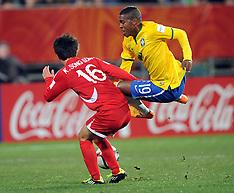 Christchurch-Football, Under 20 World Cup, Brazil v Korea DPR