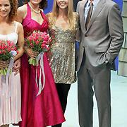 NLD/Utrecht/20080309 - Premiere musical Dirty Dancing, Anouk van Nes, Chantal Janzen en Chris Tates
