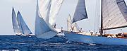 Belle Venture at the Antigua Classic Yacht Regatta