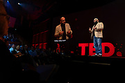 Phillip Atiba Goff speaks at TED2019: Bigger Than Us. April 15 - 19, 2019, Vancouver, BC, Canada. Photo: Bret Hartman / TED