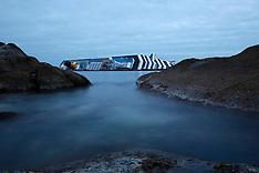 Costa Concordia shipwreck