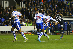 Goal, Elliott Bennett of Blackburn Rovers scores, Reading 2-1 Blackburn Rovers - Mandatory by-line: Jason Brown/JMP - 04/04/2017 - FOOTBALL - Madejski Stadium - Reading, England - Reading v Blackburn Rovers - Sky Bet Championship