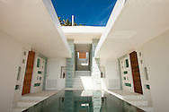 Entrance at Lime Villa 4, a luxury private, ocean view villa, Koh Samui, Surat Thani, Thailand