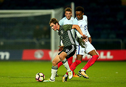 Joseph Willock of England - Mandatory by-line: Robbie Stephenson/JMP - 05/09/2017 - FOOTBALL - One Call Stadium - Mansfield, United Kingdom - England U19 v Germany U19 - International Friendly