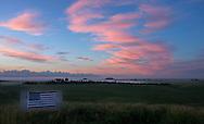 Sunrise on June 30, 2013 in Dickinson, ND.