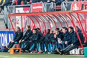 ENSCHEDE - 17-12-2016, FC Twente - AZ, Grolsch Velst Stadion, 1-2, bank