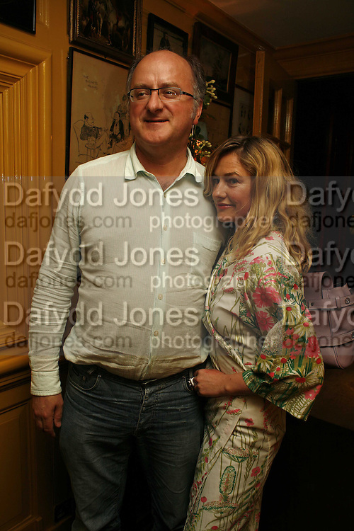 Aydin Kurdash and Angie Kurdash, Plum Sykes, book launch party, Annabel's, Berkeley Square, London, W1,10 May 2006.  Matthew Williamson, Catherine Vautrin, Laudomia Pucci host party to celebrate 'The Debutante Divorcee'. ONE TIME USE ONLY - DO NOT ARCHIVE  © Copyright Photograph by Dafydd Jones 66 Stockwell Park Rd. London SW9 0DA Tel 020 7733 0108 www.dafjones.com