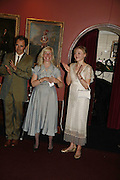 MARK RYALANCE, CLAIRE VAN KAMPEN AND JULIET RYLANCE, Vanessa Redgrave and Thelma Holt host a reception at the<br />Theatre Museum in Russell Street (in Covent Garden) to campaign proposed move of museum out of the West End. Tuesday 16 May 2006ONE TIME USE ONLY - DO NOT ARCHIVE  © Copyright Photograph by Dafydd Jones 66 Stockwell Park Rd. London SW9 0DA Tel 020 7733 0108 www.dafjones.com