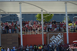 Alabama Crimson Tide fans prior to the Chick-fil-A Kickoff Game at the Mercedes-Benz Stadium, Saturday, August 31, 2019, in Atlanta. (Vasha Hunt via Abell Images for Chick-fil-A Kickoff)