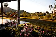 Inhauma_MG, Brasil...Rede de dormir em um sitio em Inhauma...The hammock in the house in Inhauma...Foto: LEO DRUMOND / NITRO