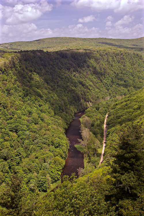 Northcentral Pennsylvania, Pine Creek Gorge, Pine Creek, Tioga County