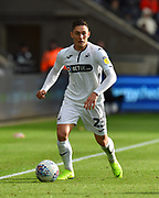 Connor Roberts (23) of Swansea City during the EFL Sky Bet Championship match between Swansea City and Reading at the Liberty Stadium, Swansea, Wales on 27 October 2018.