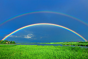 Double rainbow after storm<br />